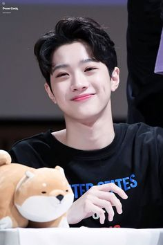 He's literally too cute to handle ☺☺☺ My Best Friend, Best Friends, Yoo Seonho, Star Company, Guan Lin, Lai Guanlin, Ong Seongwoo, Kim Jaehwan, Ha Sungwoon