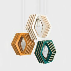 100% #Recycled Paperboard #Light fixtures by @FormMaker - #Geometric sustainable and sleek! by thesquirrelz