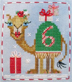 Cashmere Camel #6 of the Brooke's Books Advent Animals Freebies Collection by Brooke Nolan