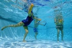 Water Aerobics-Lose weight in the stomach and legs