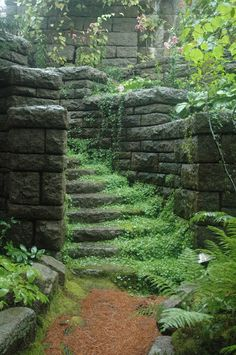 Everything will look like an ancient ruin with moss and ferns overgrowing the world.