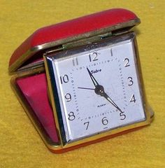 Travel Clock. My daughter loved this memory so I gave it to her.