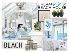 """""""Sem título #506"""" by fehlovely ❤ liked on Polyvore featuring interior, interiors, interior design, home, home decor, interior decorating, Authentics, West Elm, Rosanna and dreambeachhouse"""