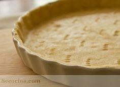 Aprende la receta de la pasta brisa o masa quebrada: una técnica básica indispensable. Tus tartas mucho más ricas y caseras.