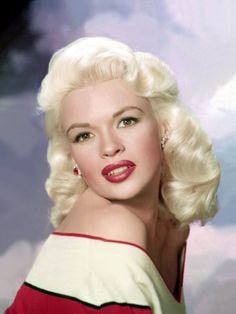 Jayne Mansfield, c.1957 Premium Poster at Art.com  FYI - Actress Mariska Hargatay's mother.