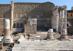 Temple of Mars Ultor, Forum of Augustus.