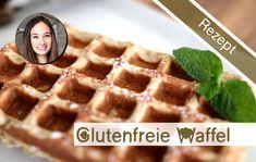 Waffeln selber machen - Waffelrezept - glutenfrei backen - Gesunder Snac...