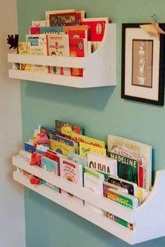 54 Ideas For Baby Diy Nursery Furniture Bookcases Baby Nursery Closet, Baby Room Diy, Diy Baby, Girl Nursery, Baby Closets, Nursery Room, Girl Room, Baby Playroom, Babies Nursery