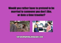 Pretend marriage or time traveler?   Kdrama Would You Rather Game: NY Kpop Festival 2013 #kdramafighting #kdramahumor