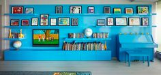 Gallery wall   Nursery Notations: A House Built Just For Kids