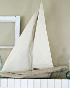 DIY: Driftwood Sailboat Tutorial