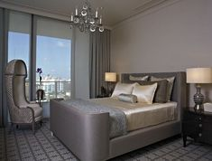 Wonderful Luxury Bedroom Design Ideas With Grey Bed Furniture : Luxury Bedroom Design Ideas With Grey Bed Furniture