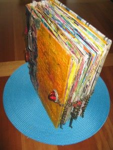 Wonderful big, fat altered book!
