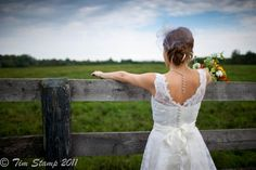 Country wedding WITH BOT OF US WOULD LOOK ARSUM