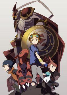 Hajime (Hajime-ill-1st), Digimon Tamers, Guilmon, Hirokazu Shiota, Lee Shao Chung, Matsuda Takato