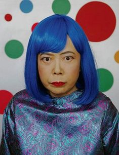 Japanese conceptual artist Yayoi Kusama is a self-described obsessive. Early in Kusama's career, she began covering surfaces which inlcuded walls, floors, canvases with the polka dots, and later moving onto household objects and naked assistants. Yayoi Kusama, Sonia Delaunay, Conceptual Art, Surreal Art, Georgia O'keeffe, Psychedelic Colors, Pop Art Movement, Art Japonais, Japanese Painting