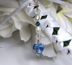 Bridal Bouquet Charm and Car Charm Something Old by CarCharmShop, $12.99
