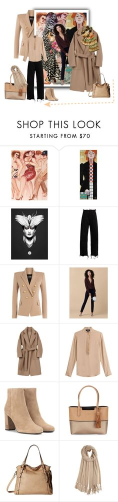 """""""Geen titel #31901"""" by lizmuller ❤ liked on Polyvore featuring Marques'Almeida, Balmain, Diane Von Furstenberg, Theory, Yves Saint Laurent, Calvin Klein, Jessica Simpson, Calypso St. Barth and Missoni"""