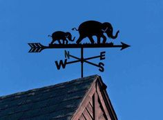 An Elephant never forgets Weather Check, Melting Metal, Elephants Never Forget, Lightning Rod, Weather Vanes, Shape Art, Gentle Giant, Windmill, Three Dimensional