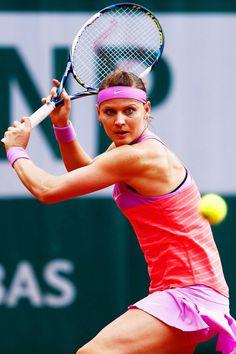 Lucie Safarova at Roland Garros 2015 #WTA #Safarova #RolandGarros