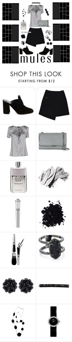 """Untitled #37"" by sagepayne ❤ liked on Polyvore featuring Steve Madden, MARC CAIN, Emporio Armani, STELLA McCARTNEY, Gucci, Bobbi Brown Cosmetics, Morgan Lane, Lancôme, Kendra Scott and Simone Rocha"
