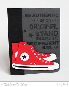 Be Original, All-Star High Top Die-namics, Arrows Abound Stencil - Amy Rohl #mftstamps