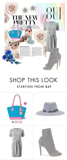 """""""Venety 34"""" by corys1109 on Polyvore featuring Oui, Maison Michel, Miss Selfridge, Gianvito Rossi and Bee Goddess"""