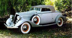 1934 Studebaker President Roadster - (Studebaker Corporation, South Bend, Indiana, 1902-1964)