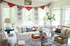 americana inspired rooms - Google Search