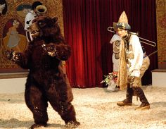 Dancing Bear  #mascot #costume #character #bear