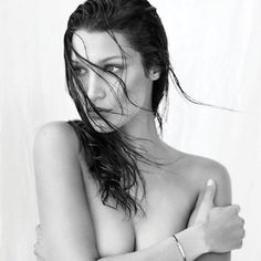 Bella Hadid Goes Topless For Another Magazine Cover Shoot - http://oceanup.com/2016/09/13/bella-hadid-goes-topless-for-another-magazine-cover-shoot/