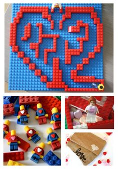 Lego Valentines Day Ideas | These are so fun and I can't wait to try them with my kiddos!