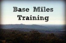 Base Miles Training