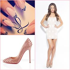 The perfect combination+ elegant nails