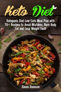 Keto Diet: Ketogenic Diet Low Carb Meal Plan with 70  Recipes to Avoid Mistakes, Burn Body Fat and Lose Weight Fast! (Keto Diet Mistakes, Keto Diet ... Ketosis, Keto Clarity, Get Fit) (Volume 3) ** Check this awesome product by going to the link at the image.