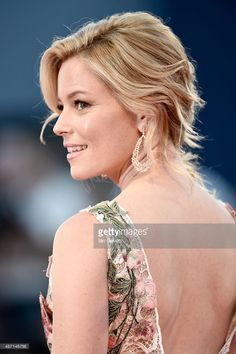 Elizabeth Banks attends a premiere for 'A Bigger Splash' during the 72nd Venice Film Festival at Sala Grande on September 6, 2015 in Venice, Italy.  (Photo by Ian Gavan/Getty Images)