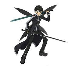 sword art online for desktop hd Kirito Kirigaya, Kirito Asuna, Character Concept, Character Art, Character Design, Character Ideas, Kunst Online, Online Art, Manga
