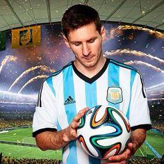 Lionel Messi - Argentina, FIFA World Cup Brazil 2014