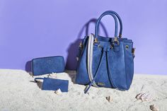 """GREEK SPIRIT Inspired by the sea`s deep blue and Greek island`s white, our new 'Greek Spirit' collection will virtually tour you to the Aegean and Ionian islands. The slogan of the line is """"My Greek Island Home"""" and """"Olive Branch with a Mediterranean Flair"""". Stunning handmade engraved details and prints on bags and wallets embellish our new collection.  www.doca.gr #greekspirit #greek #island #blue #fashion #patterns Island Blue, Fashion Patterns, Blue Fashion, Deep Blue, Slogan, Islands, Wallets, Greek, Spirit"""