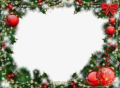Moldura de Natal, Bolas De Natal, MolduraImagem PNG
