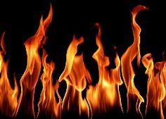 Ogień, Płomienie