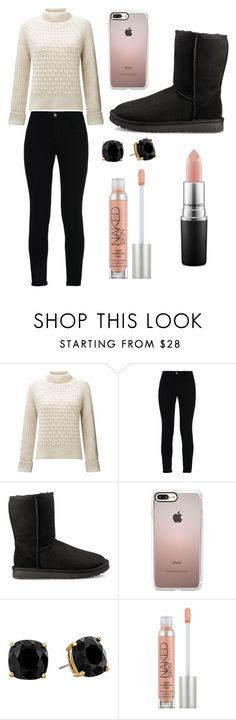 """""""Sans titre #2391"""" by yldr-merve ❤ liked on Polyvore featuring Somerset by Alice Temperley, STELLA McCARTNEY, UGG, Casetify, Kate Spade, Urban Decay and MAC Cosmetics"""