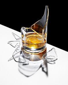 jarren vink whiskey glass broken photographer still life art studio new york photo photography Glass Photography, Object Photography, Still Life Photography, Fine Art Photography, White Photography, Animal Photography, Family Photography, Photography Tips, Wedding Photography