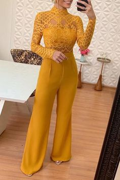 Women summer jumpsuits     Wide leg casual jumpsuits     Wide leg rompers for women     Short sleeve jumpsuits and rompers     casual wide leg summer jumpsuits  jumpsuits for women casual  jumpsuits for women classy  jumpsuit outfit casual  jumpsuit formal parties   #jumpsuits #jumpsuitoutfit #jumpsuitfashion #romperoutfit #romper #playsuit #playsuitoutfit Trend Fashion, Fashion Looks, Fashion Outfits, Women's Fashion, Fashion Spring, Moda Afro, Jumpsuit Outfit, Looks Chic, Printed Jumpsuit