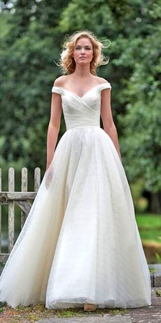 Classic Wedding Dresses You Cant Go Wrong With ❤ See more: http://www.weddingforward.com/classic-wedding-dresses-ideas/ #weddings