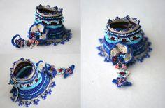 Gipsy crochet bracelet avec raccordement de l'anneau