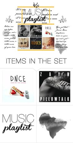 """M U S I C  p l a y l i s t"" by livijustine on Polyvore featuring art"