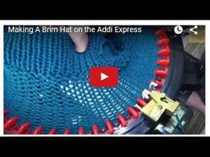 This tutorial will show you how to make a brim folding on to the needles as you would do in loom knitting... (Press on full screen to get the best view) Enjo...