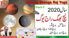 Year 2020 - Neecha Bhanga Raj Yoga Zodiac Sign Effects Vedic Astrology Vedic Astrology, Zodiac Signs, Yoga, Star Constellations, Horoscopes, Zodiac Mind