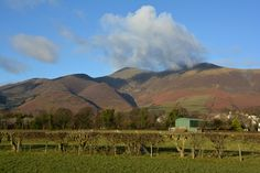 Sunshine on the Skiddaw feels, by David Hall.